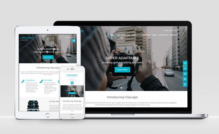 CityLogic WordPress theme