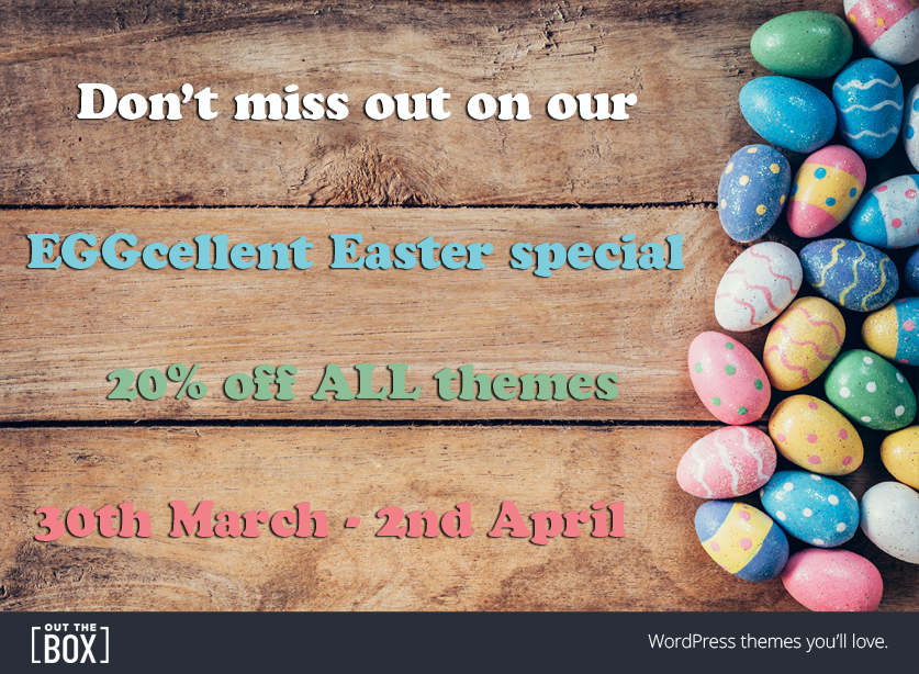 WordPress theme Easter special