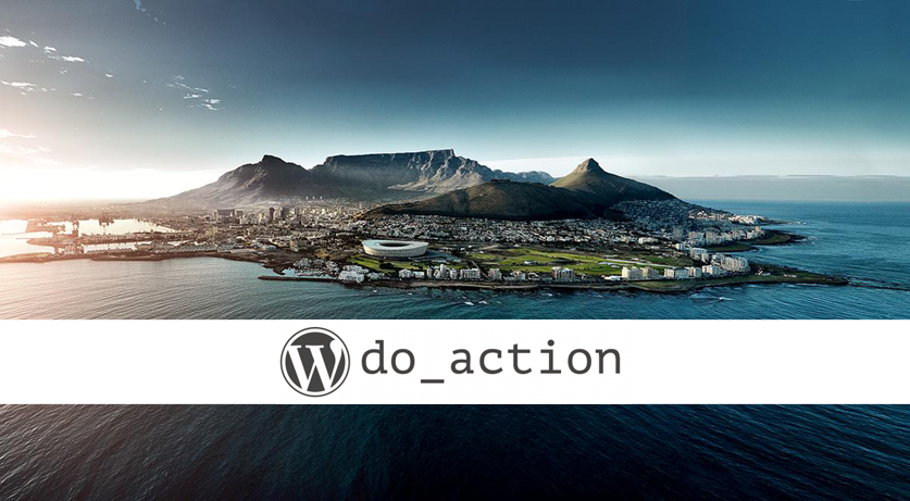 do_action WordPress Charity Hackathon Cape Town 2018