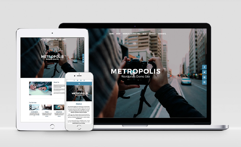 Metropolis WordPress theme
