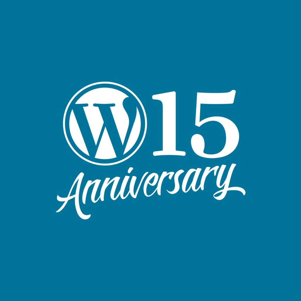WordPress 15th Anniversary Theme Sale