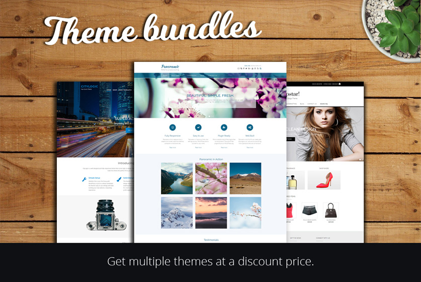 WordPress theme bundles by Out the Box