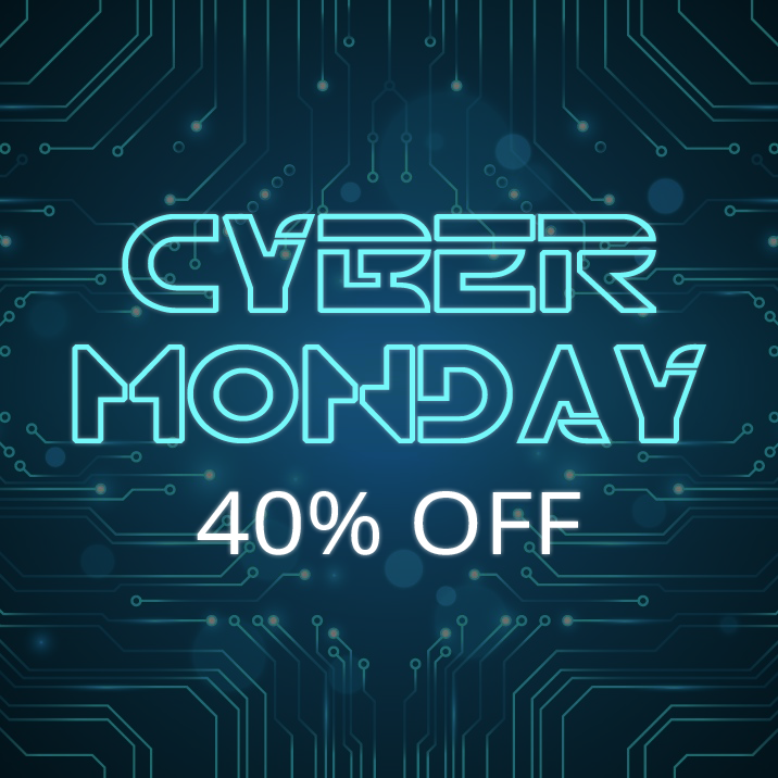 Cyber Monday Sale - 40% off all themes
