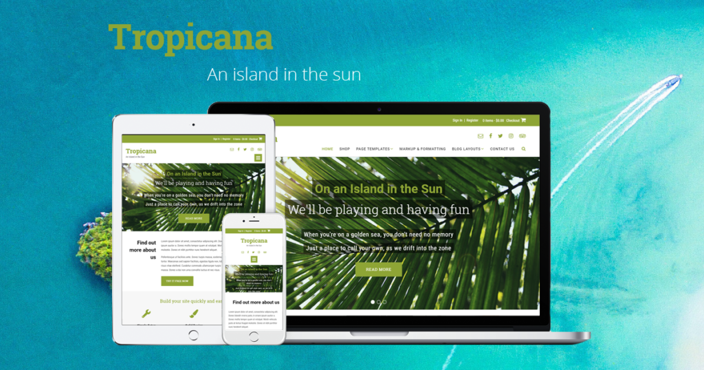 Introducing Tropicana!