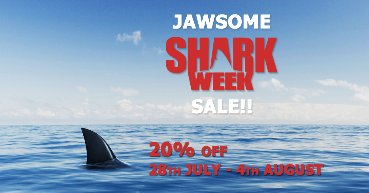 Shark Week WordPress theme sale