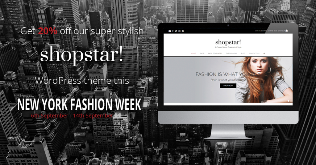 New York Fashion Week Shopstar! Sale