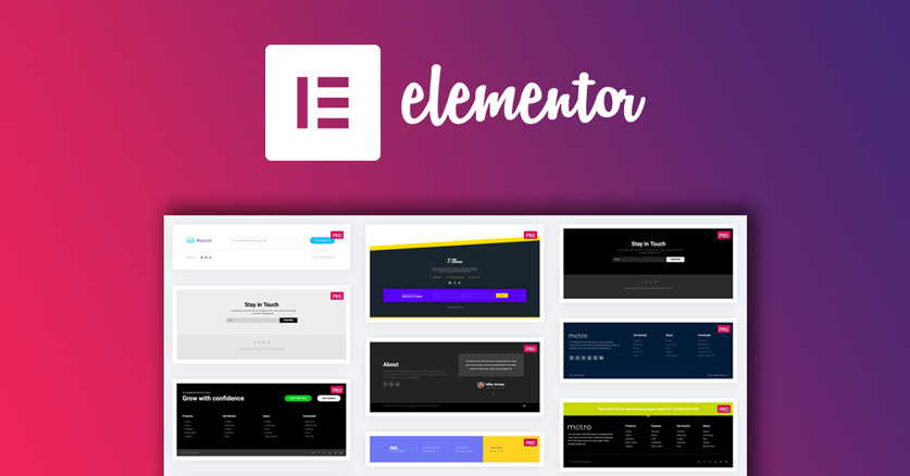 Elementor Pro header and footer locations
